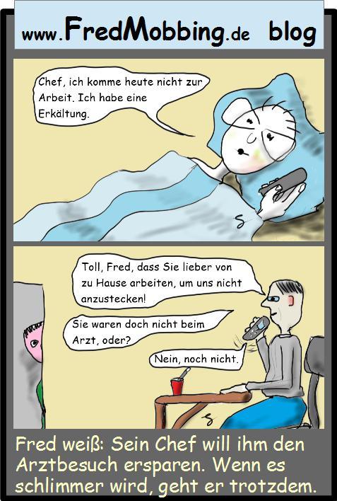 fredmobbing-krank-zu-hause